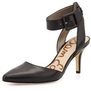 Sam Edelman Okala Black Ankle Strap Pointed Toe 10